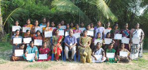 Women Tailoring Training 2nd batch certificate distribution